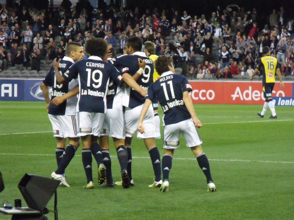 Melbourne Victory v Central Coast Mariners (4/5)