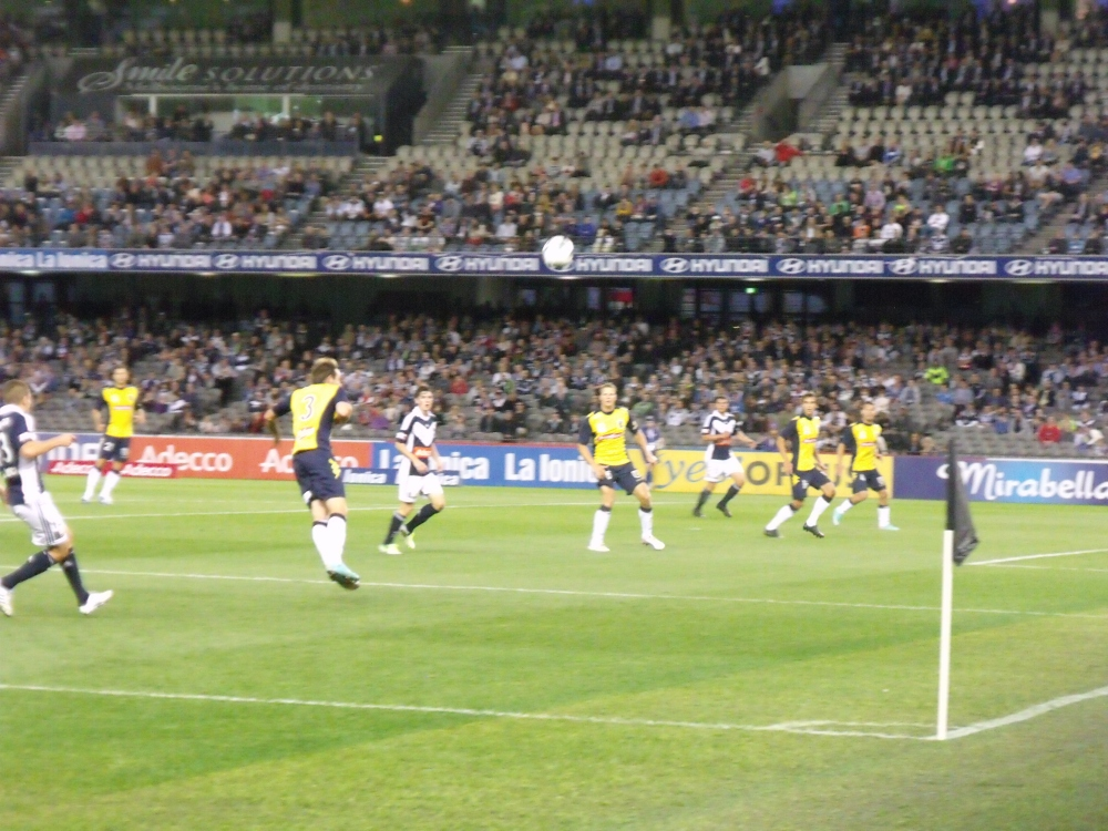 Melbourne Victory v Central Coast Mariners (3/5)