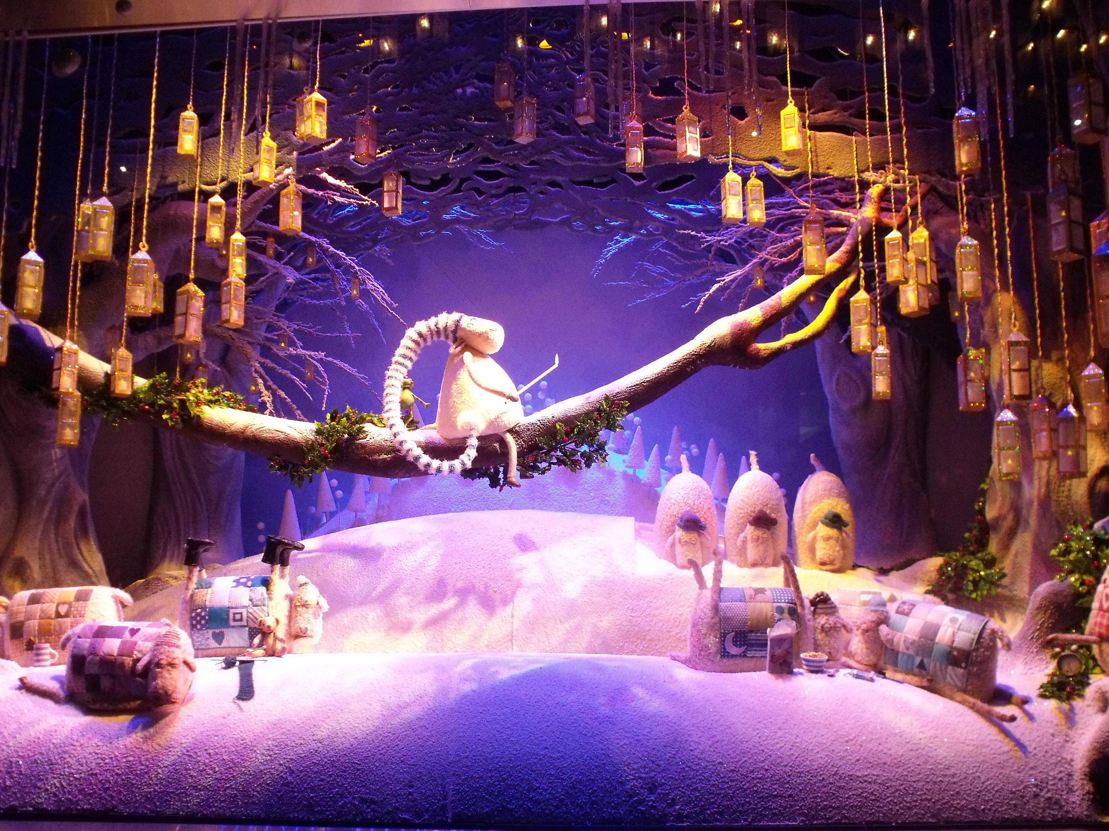 myer christmas lights