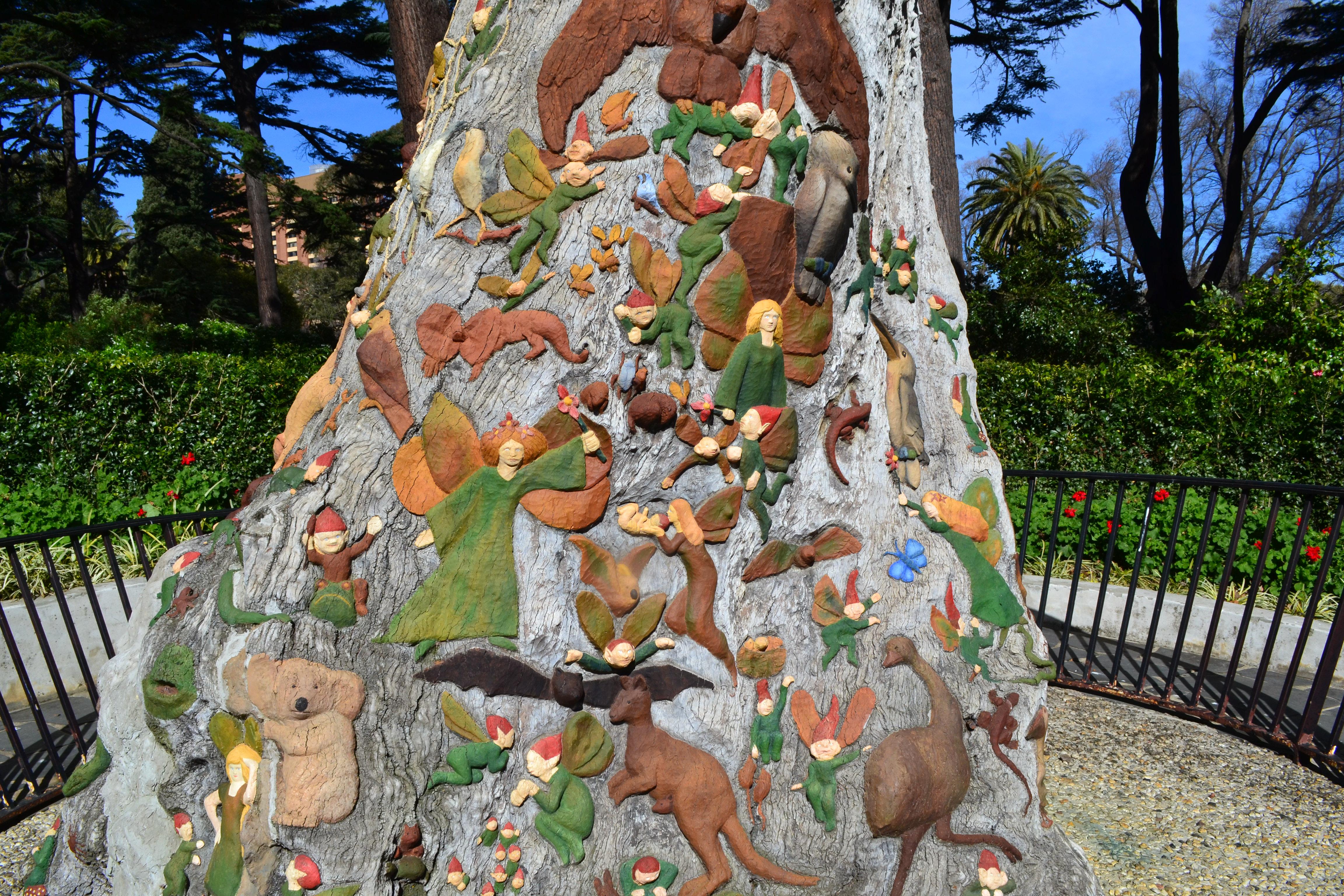 Fairies tree fitzroy gardens leanne s delicious food and travel - Fairies Tree Fitzroy Gardens