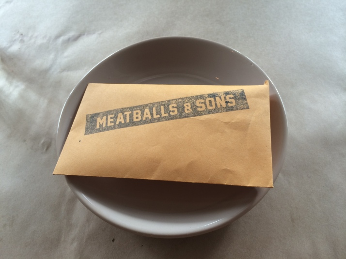 Meatballs bill folder