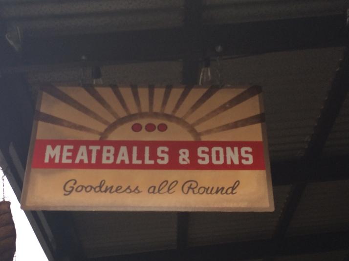Meatballs sign