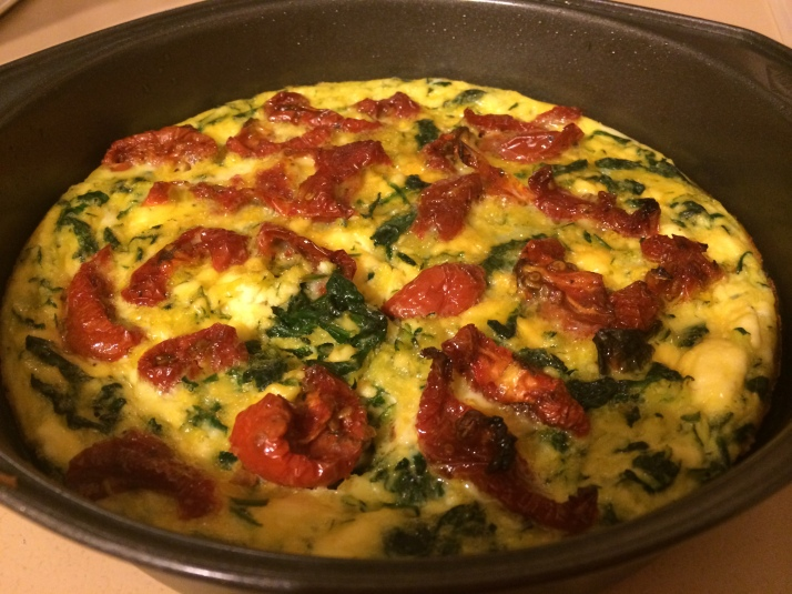 full of vegies frittata