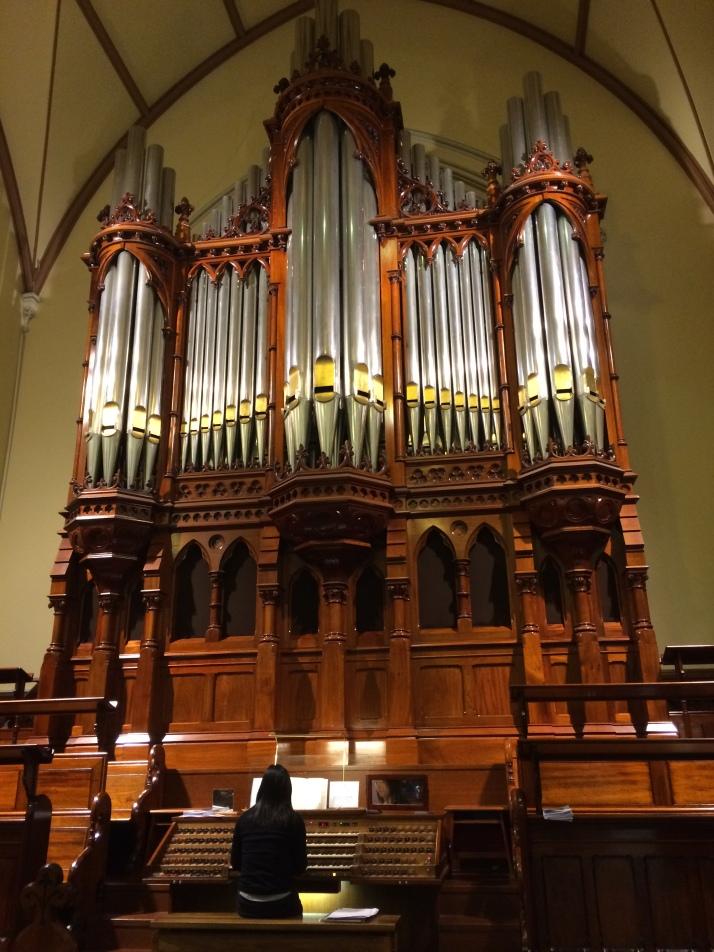 Scots Church organ