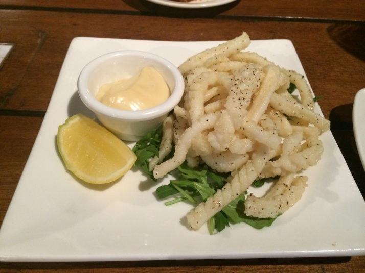 Feddish Salt and Pepper calamari