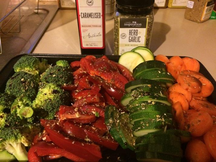 Rainbow vegies